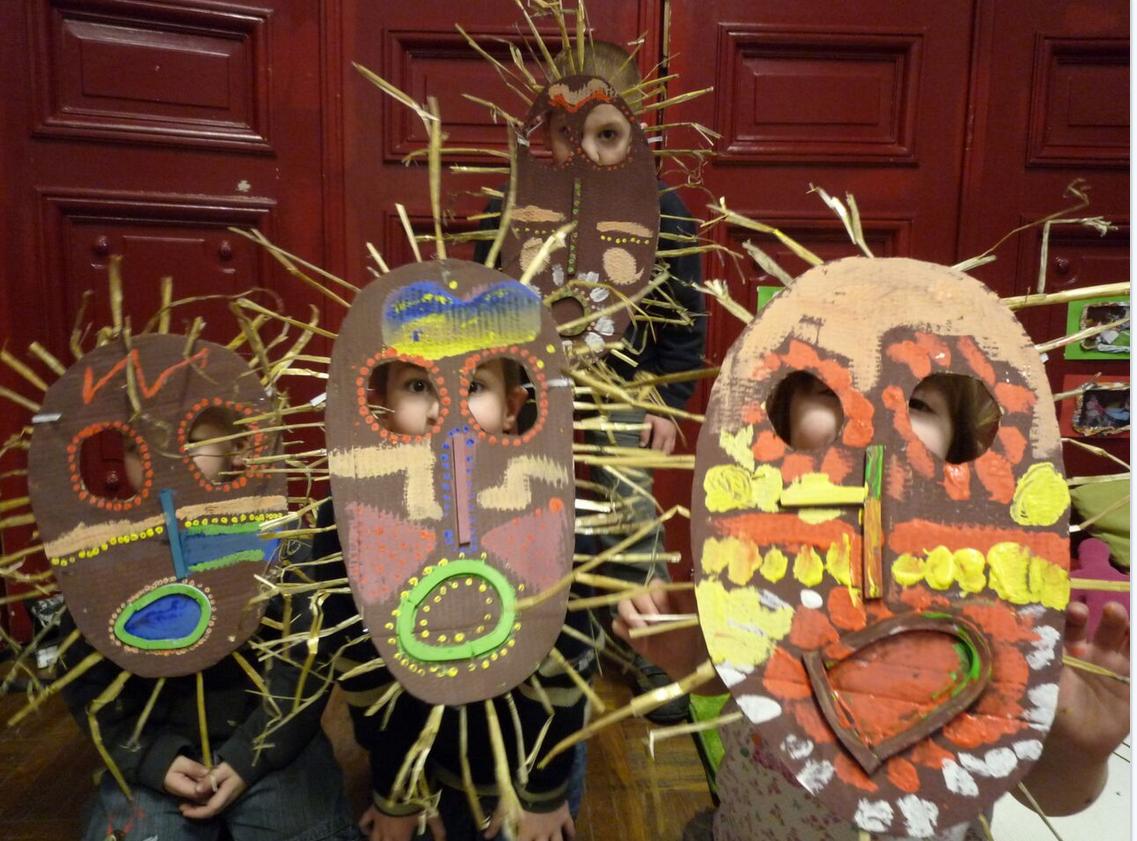 aire de famille masques